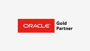 "Logo ""Oracle Gold Partner"""