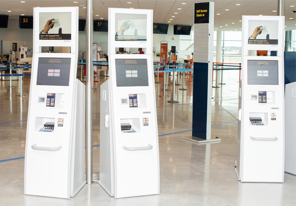 Materna's check-in solution at Stockholm Airport