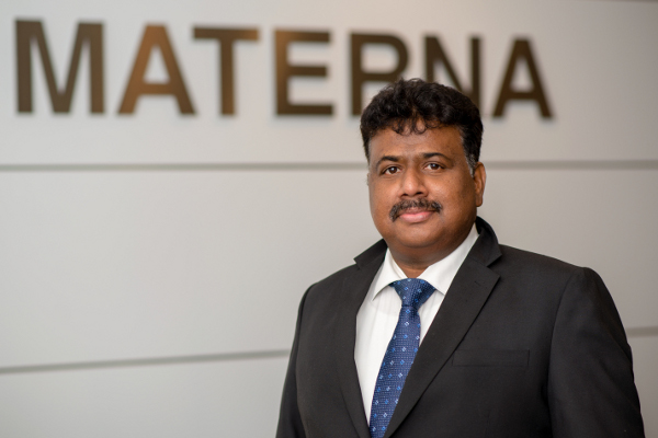 Shibu Mathews, Head of Materna Information & Communications India Pvt. Ltd.